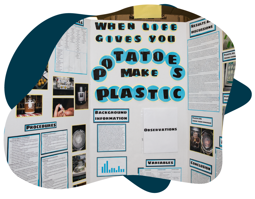 Science Fair Project: When Life Gives you Potatoes Make Plastic